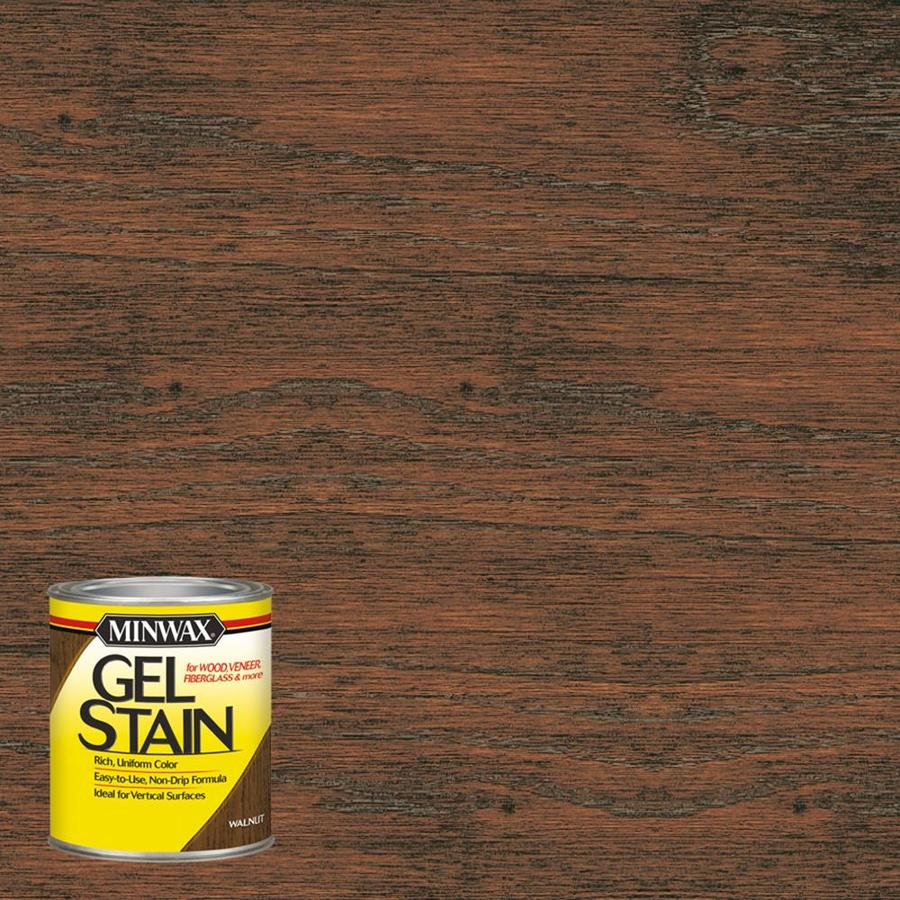 Minwax Pre-Tinted Walnut Interior Stain (Actual Net Contents: 8-fl oz)