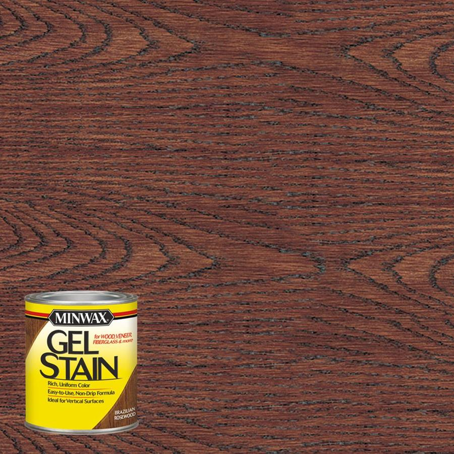 Minwax Pre-Tinted Brazilian Rosewood Interior Stain (Actual Net Contents: 8-fl oz)