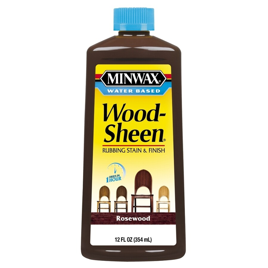 Minwax Pre-Tinted Rosewood Interior Stain (Actual Net Contents: 12-fl oz)