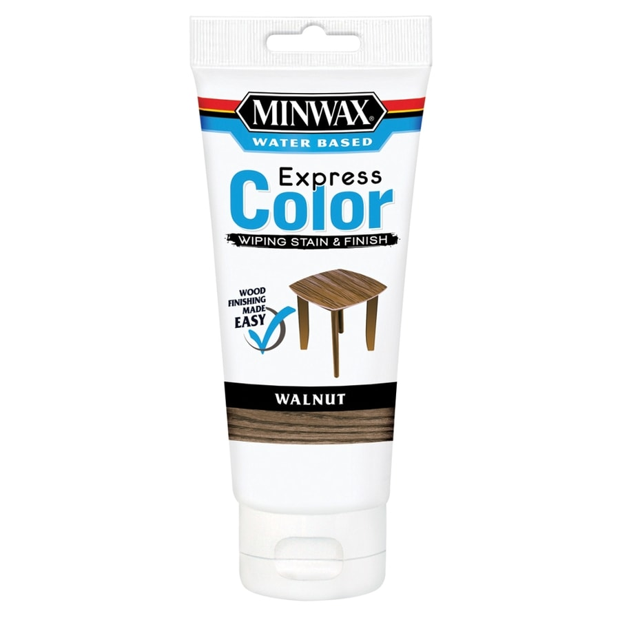 Minwax Express Color Half Pint Walnut Latex Wood Stain