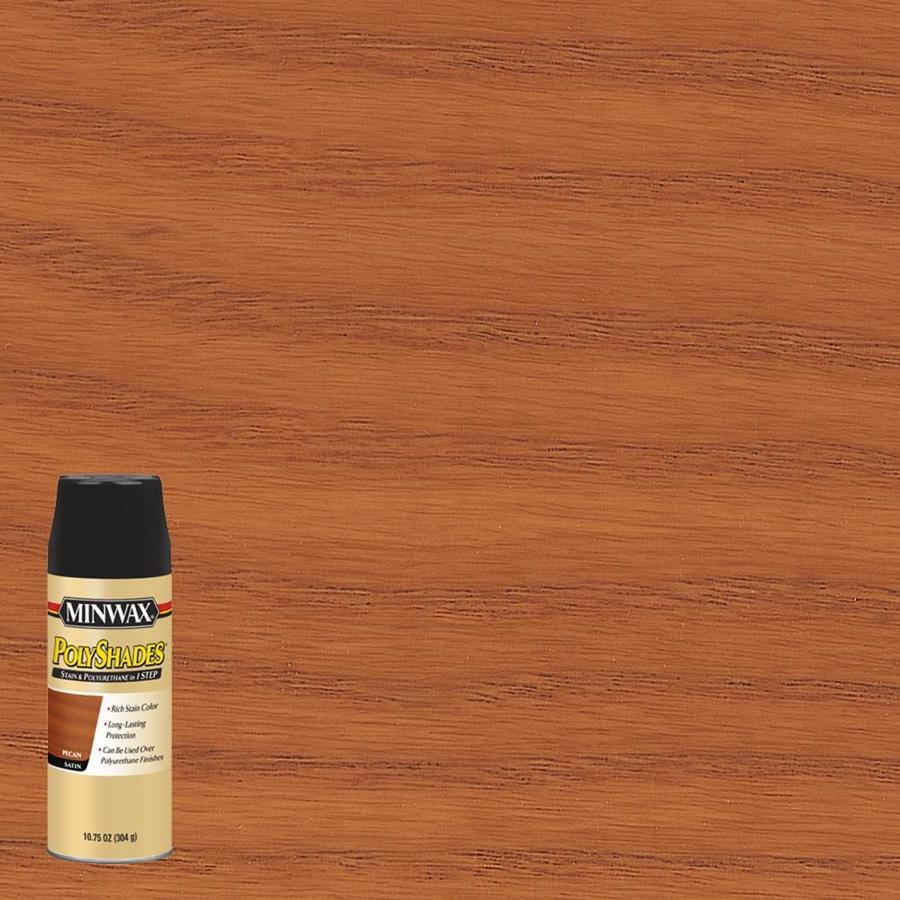 Minwax Polyshades Pecan Oil Based Interior Stain Actual Net Contents 10 75 Fl