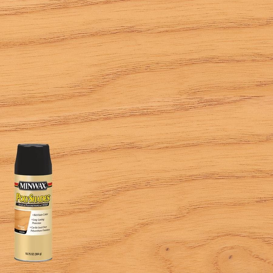 Minwax Pre-Tinted Classic Oak Satin Interior Stain (Actual Net Contents: 10.75-fl oz)