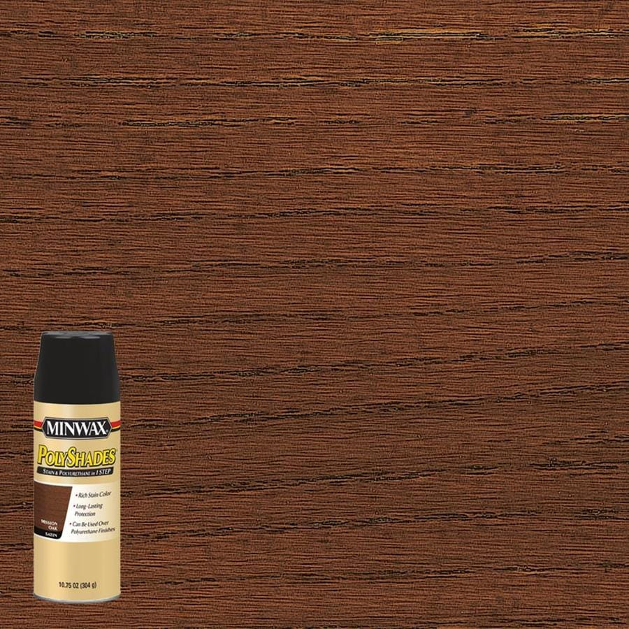 Minwax Pre-Tinted Mission Oak Satin Interior Stain (Actual Net Contents: 10.75-fl oz)