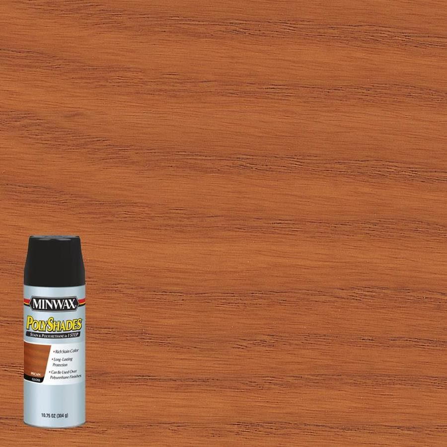 Minwax Pre-Tinted Pecan Gloss Interior Stain (Actual Net Contents: 10.75-fl oz)