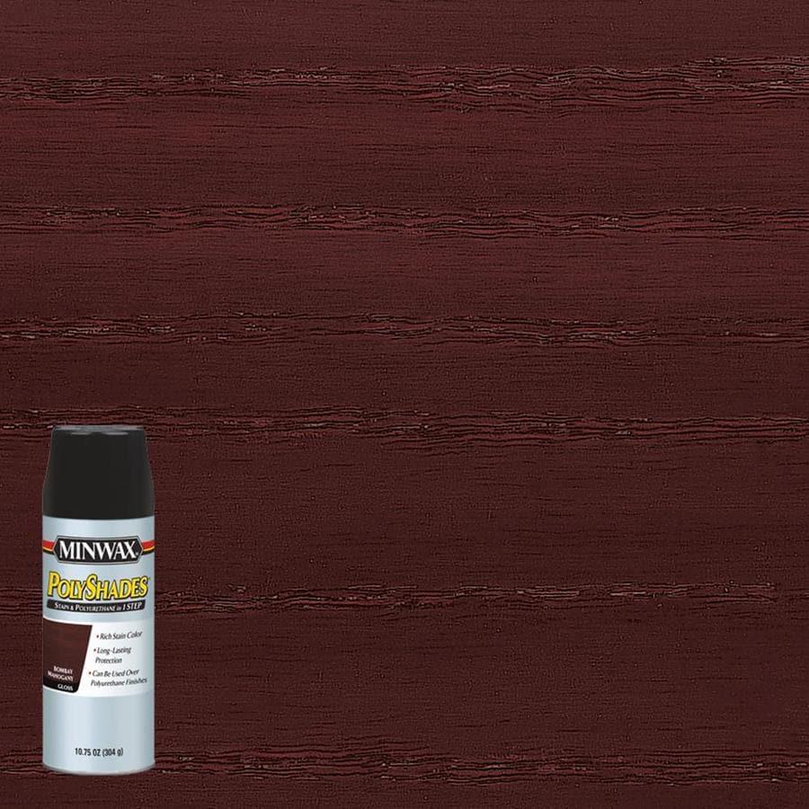 Minwax Pre-Tinted Bombay Mahogany Gloss Interior Stain (Actual Net Contents: 10.75-fl oz)