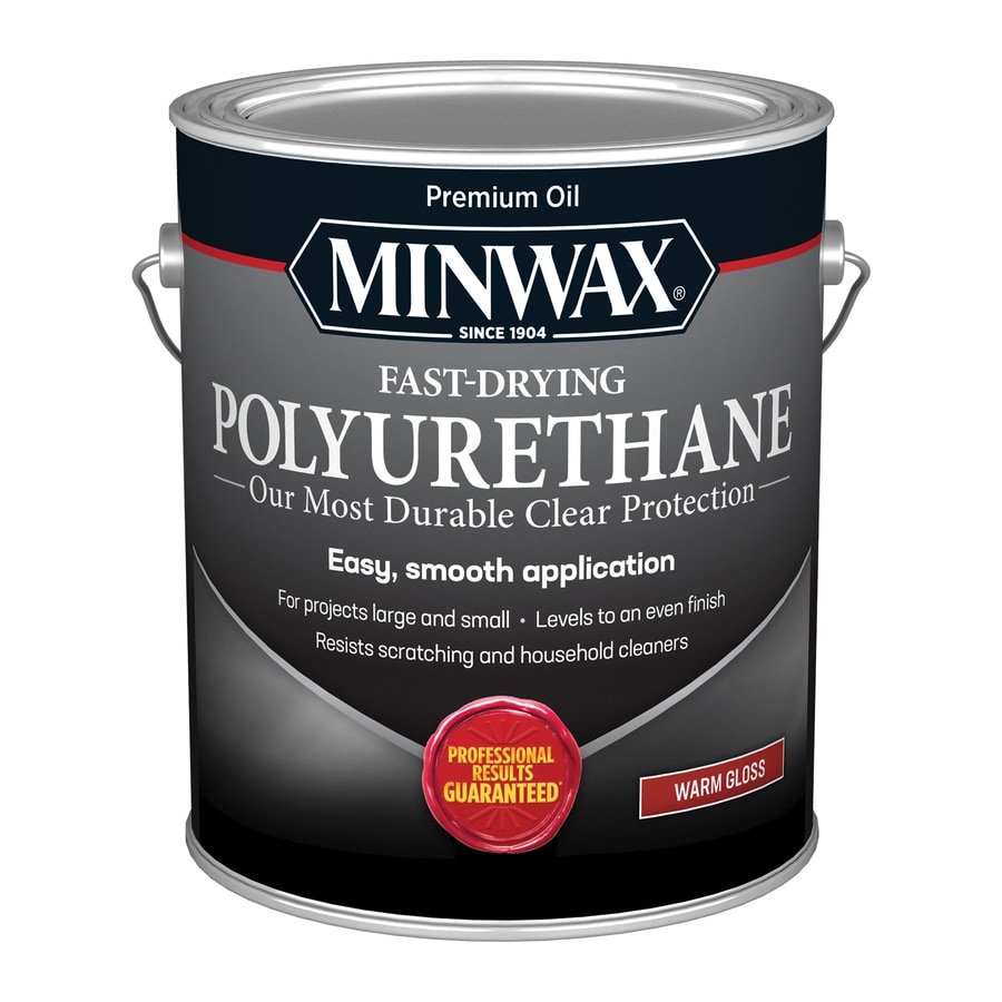 Shop minwax 128 fl oz gloss oil based polyurethane at Oil based exterior paint brands