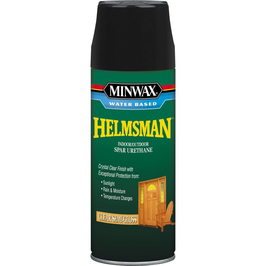 Minwax Semi-Gloss Water-Based 11.5-fl oz Varnish