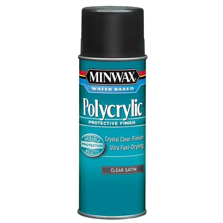 Minwax Satin Water-Based 11.5-fl oz Polyurethane