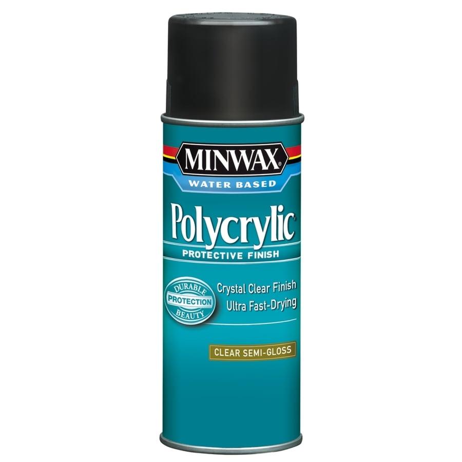 Minwax Polycrylic 11 5 Fl Oz Semi Gloss Water Based Polyurethane