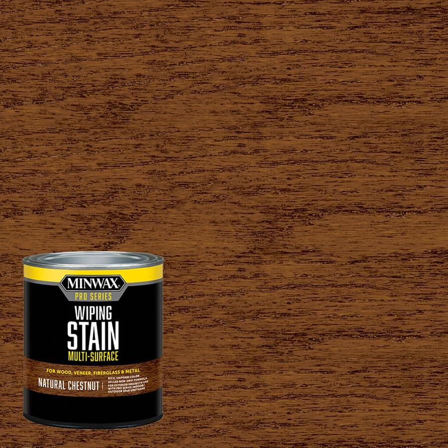 Minwax Pre-Tinted Natural Chestnut Interior Stain (Actual Net Contents: 32-fl oz)