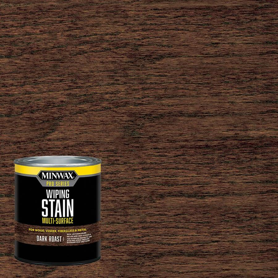 Shop Minwax 32 Fl Oz Dark Roast Oil Based Interior Stain