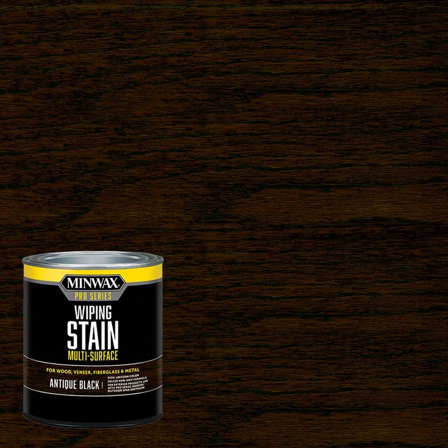 Minwax Pre-Tinted Antique Black Interior Stain (Actual Net Contents: 32-fl oz)