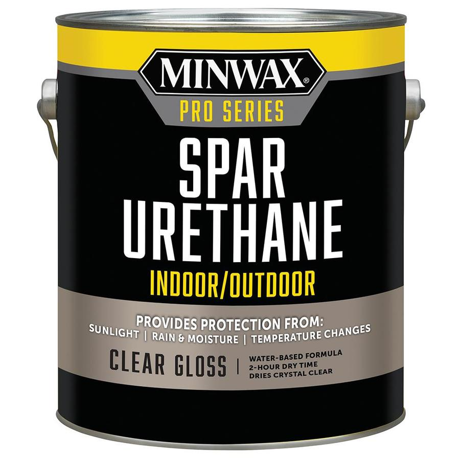 Minwax Gloss Water-Based 128-fl oz Polyurethane