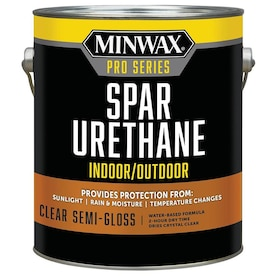 Minwax Pro Series Semi-gloss Water-based Spar Urethane Varnish (Actual Net Contents: 128-fl oz)