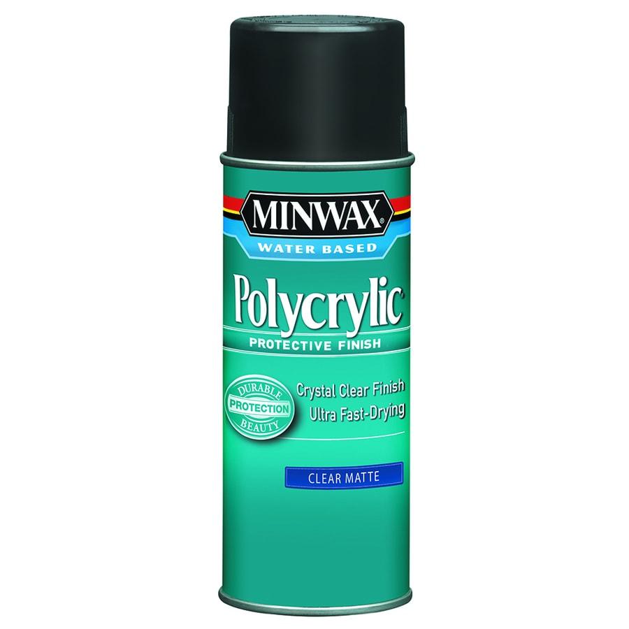 Minwax Polycrylic Matte Water Based Polyurethane Actual