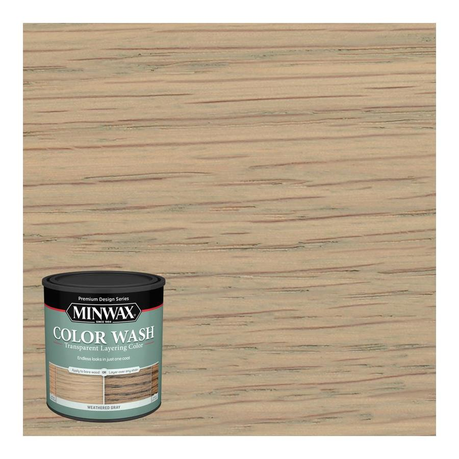 Minwax Color Wash Weathered Gray Water