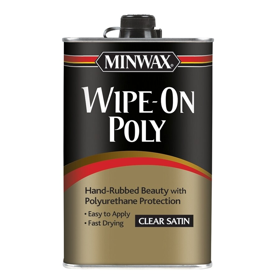 Minwax Satin Oil-Based 16-fl oz Polyurethane