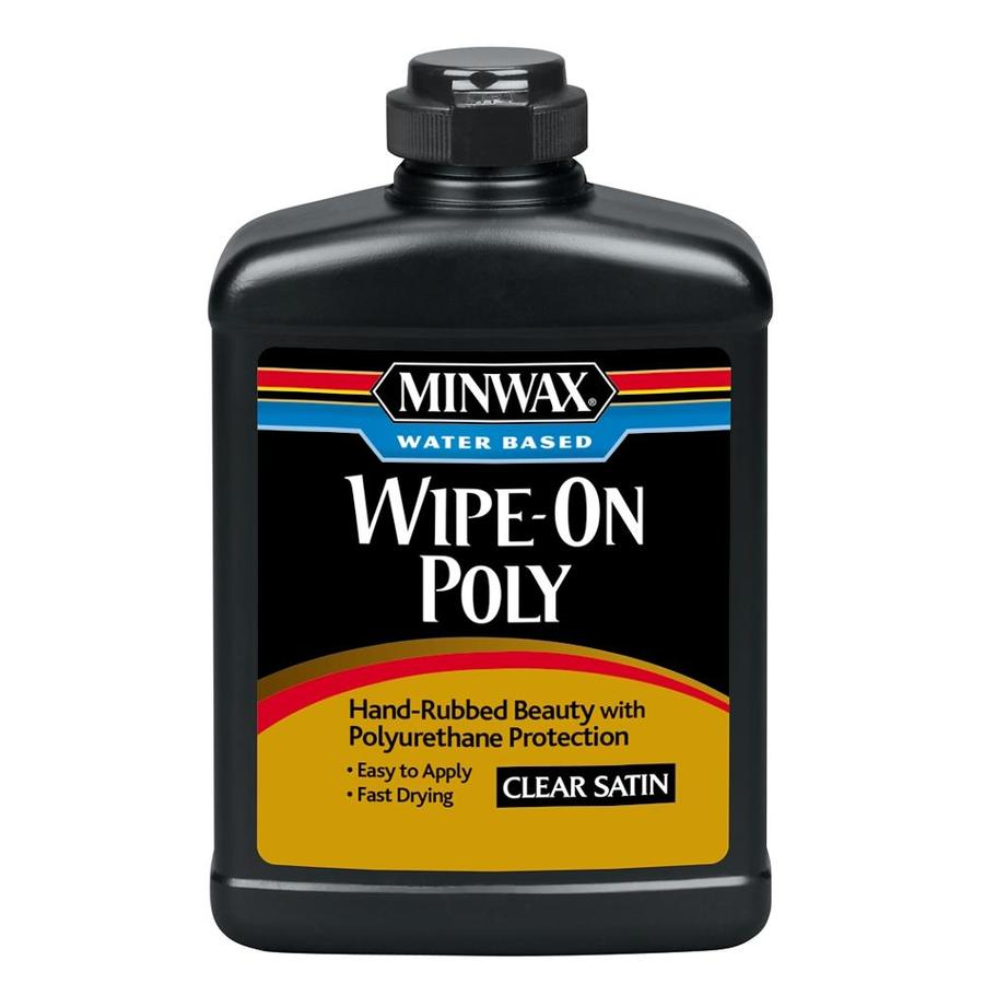 Minwax Satin Oil-Modified 16-fl oz Polyurethane