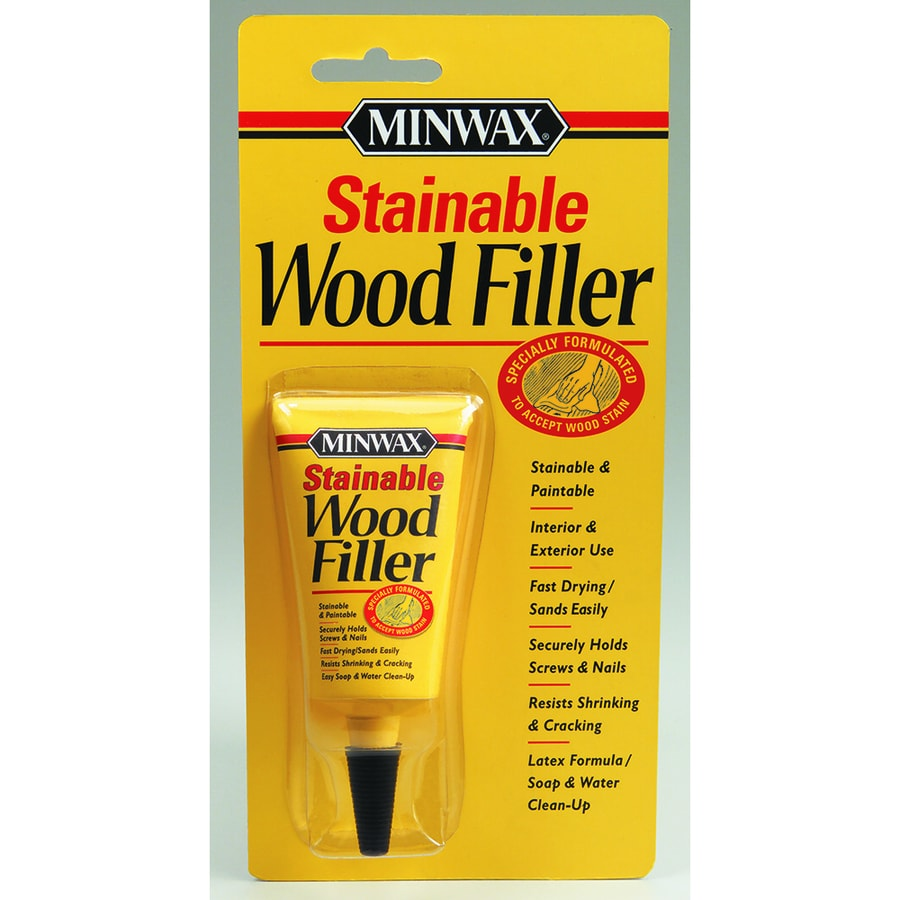Minwax 1-oz Stainable Wood Filler