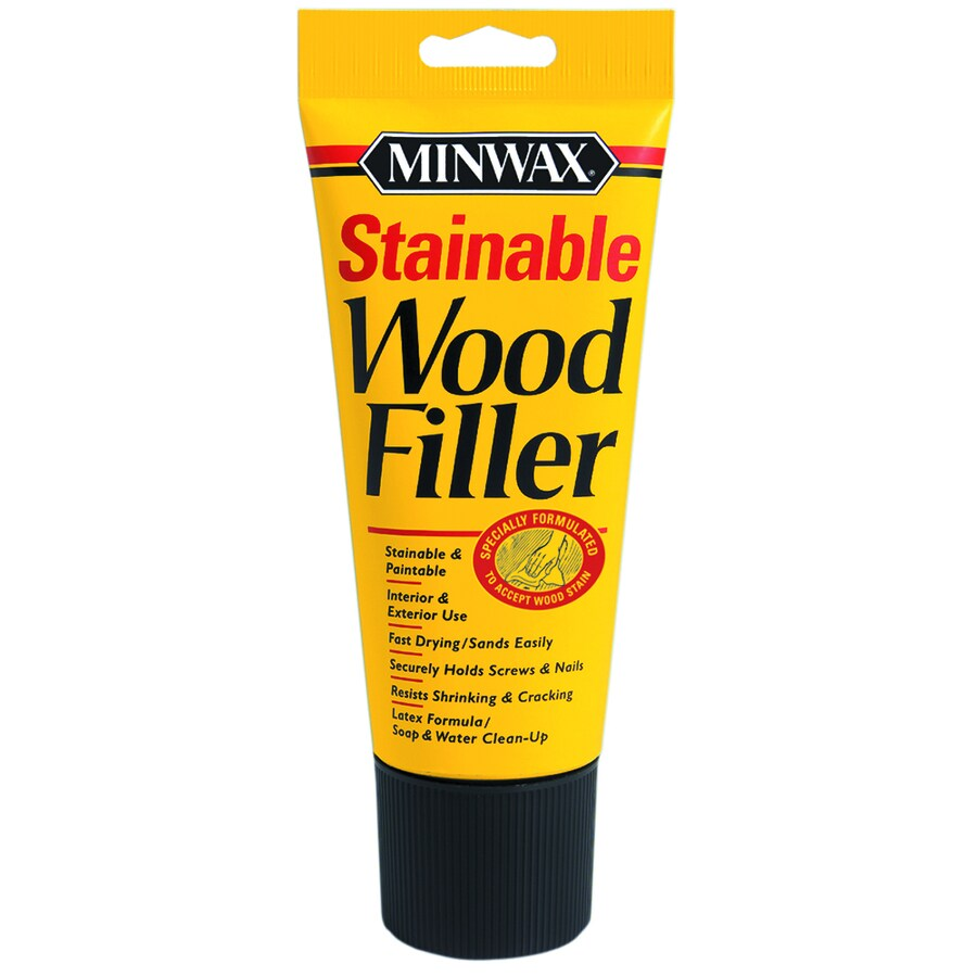 Minwax 6-oz Stainable Wood Filler