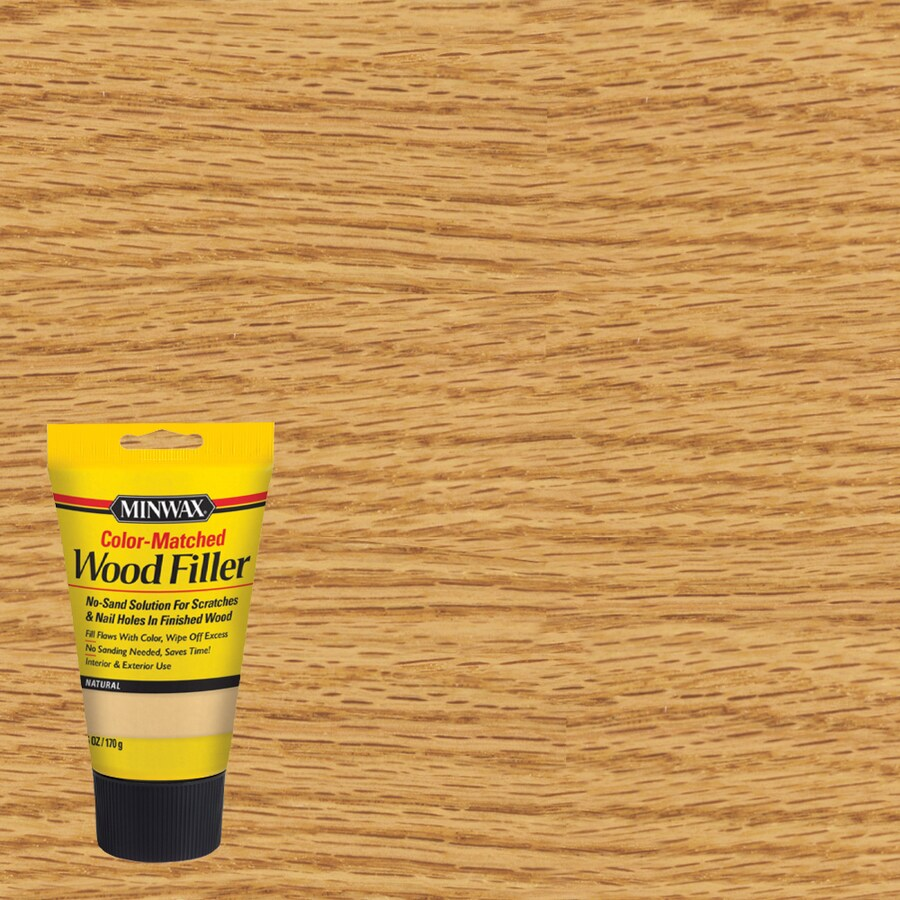 Minwax Color Matched 6 Oz Natural Wood Filler At Lowes Com