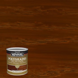 Minwax PolyShades Satin American Chestnut Oil-based Interior Stain (Actual Net Contents: 32-fl oz)