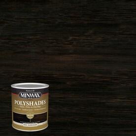 Minwax PolyShades Satin Classic Black Oil-based Interior Stain (Actual Net Contents: 32-fl oz)