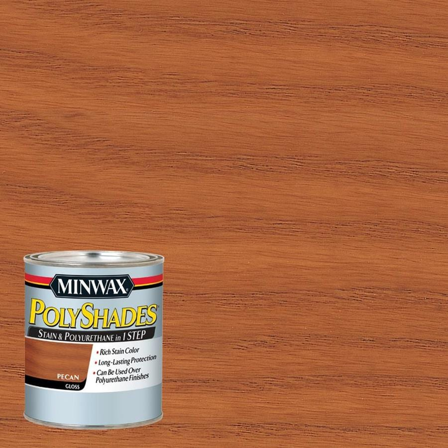 Minwax Pre-Tinted Pecan Gloss Interior Stain (Actual Net Contents: 32-fl oz)