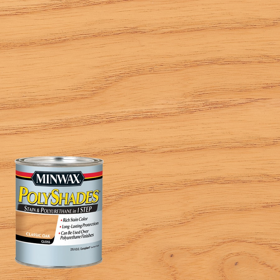 Minwax Pre-Tinted Classic Oak Gloss Interior Stain (Actual Net Contents: 32-fl oz)