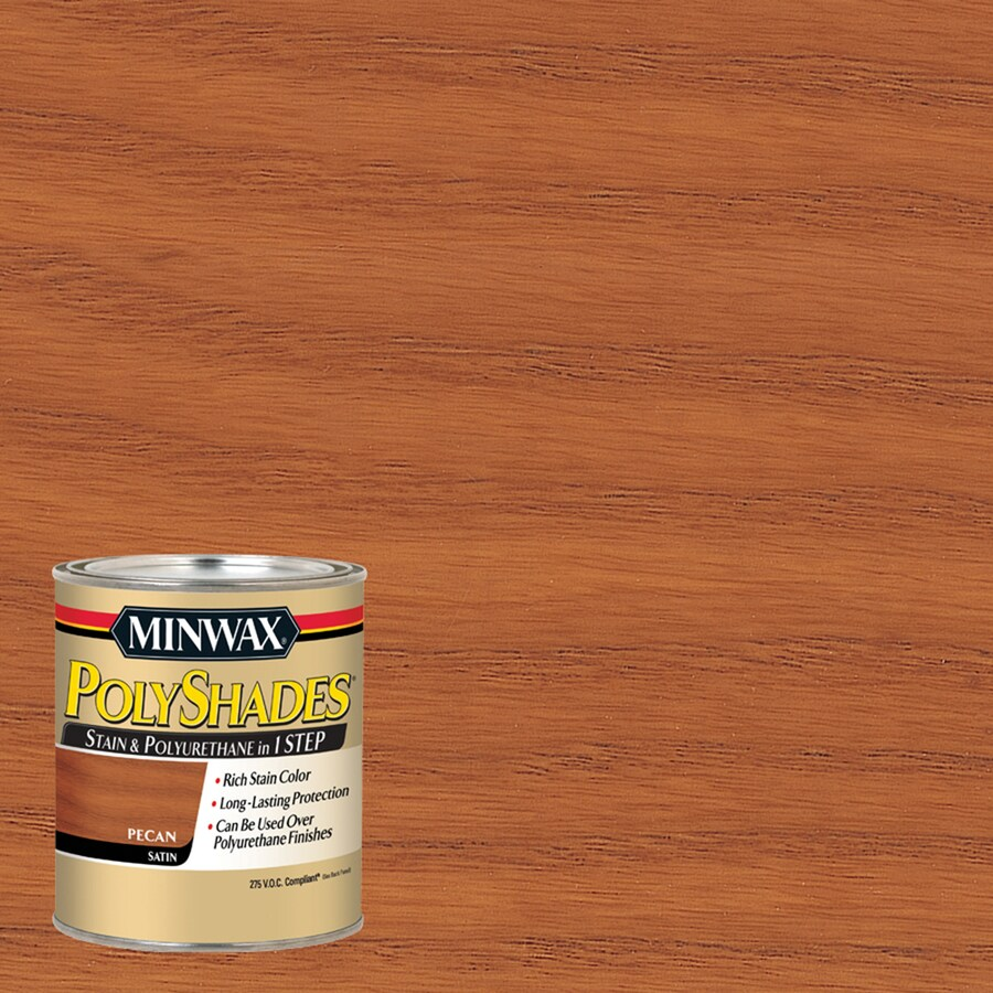Minwax Pre-Tinted Pecan Satin Interior Stain (Actual Net Contents: 32-fl oz)