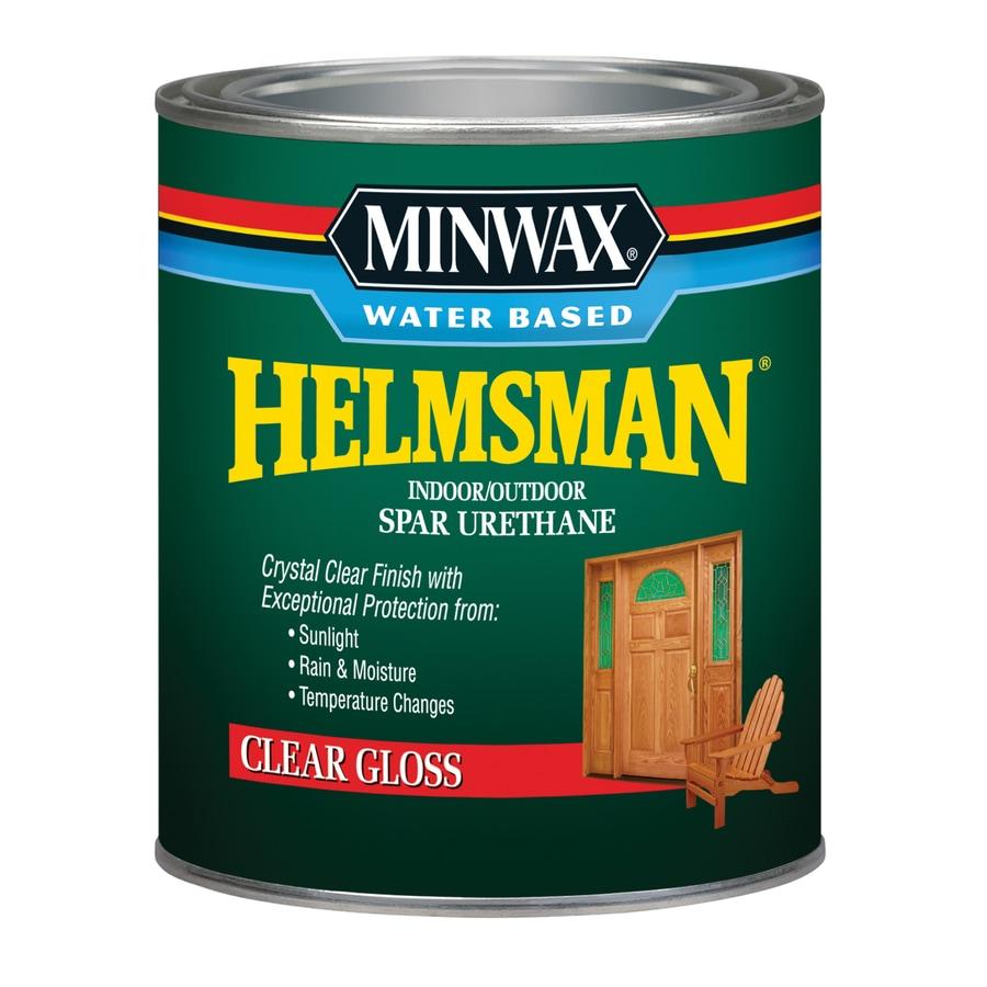 Minwax Gloss Water-Based 32-fl oz Varnish