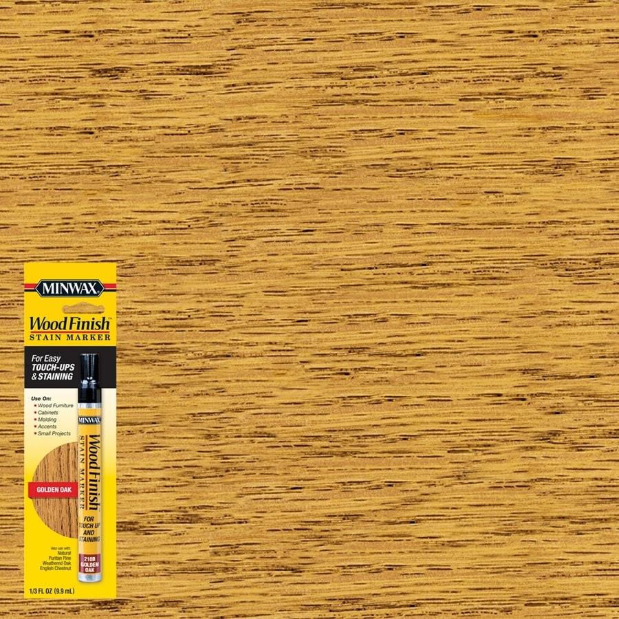 Minwax Wood Finish Stain Marker Golden Oak Stain Pen