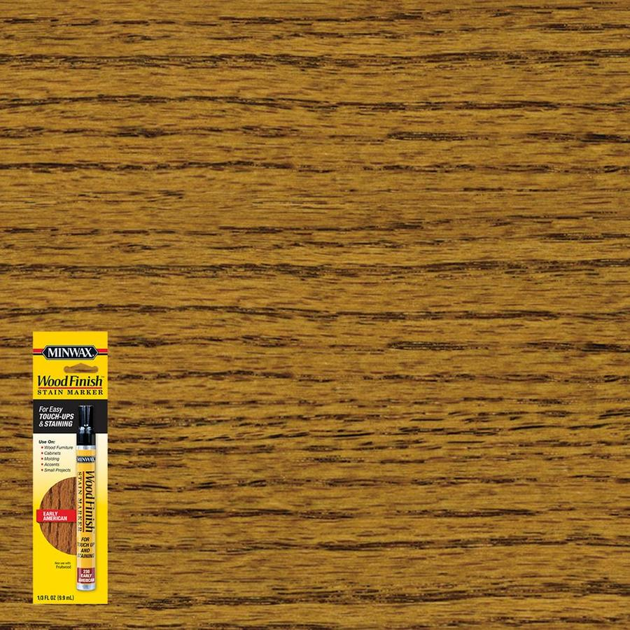 Minwax Wood Finish Stain Marker Early American Stain Pen