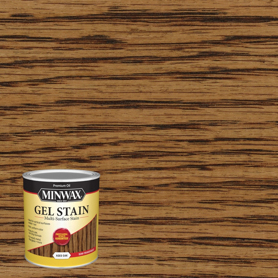 Minwax Pre-Tinted Aged Oak Interior Stain (Actual Net Contents: 32-fl oz)