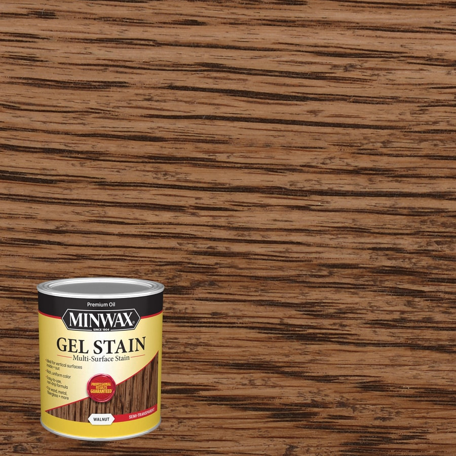 Minwax Pre-Tinted Walnut Interior Stain (Actual Net Contents: 32-fl oz)