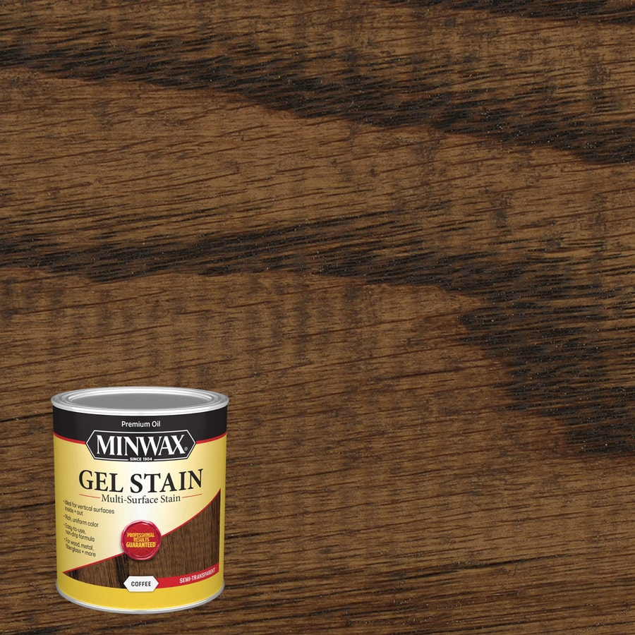 Minwax Gel Stain Coffee Oil Based Interior Stain Actual Net Contents Jpg  900x900 Gel Wood Stain