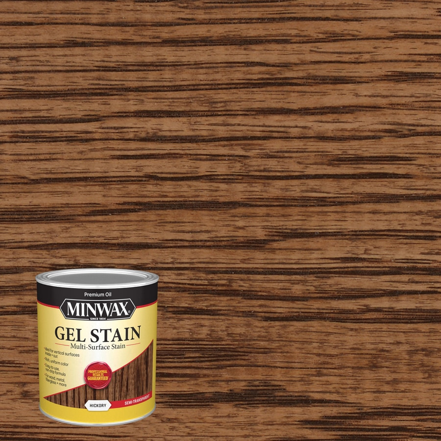 Minwax Pre-Tinted Hickory Interior Stain (Actual Net Contents: 32-fl oz)