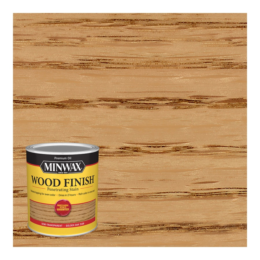 Minwax Golden Oak Interior Stain (Actual Net Contents: 32 Fluid Ounce(S))