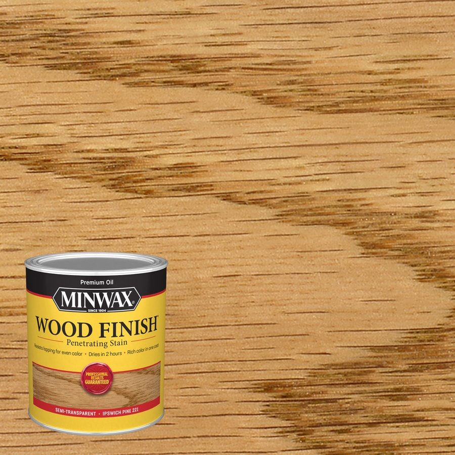 Minwax Pre-Tinted Ipswich Pine Interior Stain (Actual Net Contents: 32-fl oz)