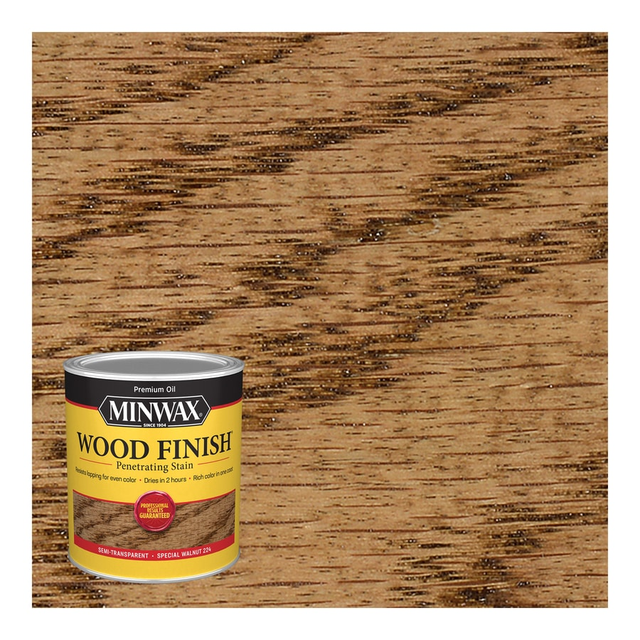 Minwax Special Walnut Interior Stain (Actual Net Contents: 32 Fluid Ounce(S))