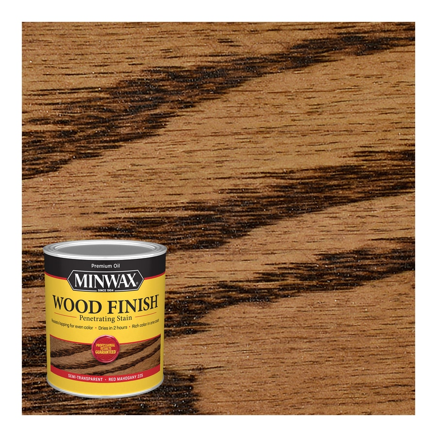 Minwax Pre-Tinted Red Mahogany Interior Stain (Actual Net Contents: 32-fl oz)