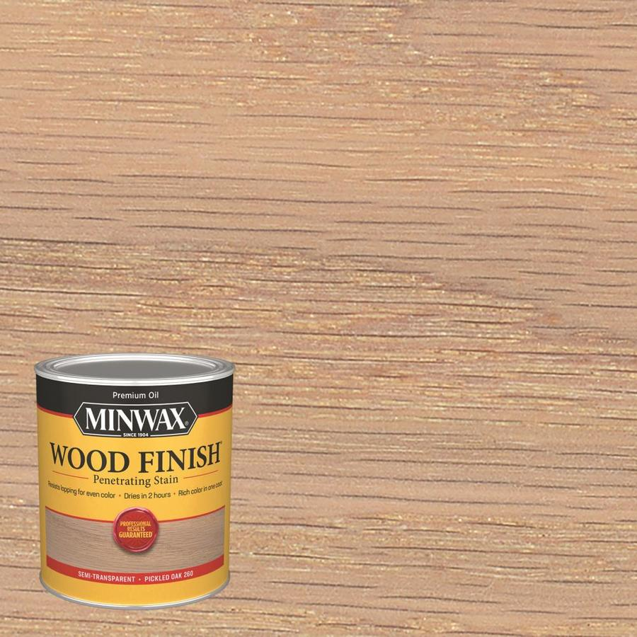 Minwax Pre-Tinted Pickled Oak Interior Stain (Actual Net Contents: 32-fl oz)