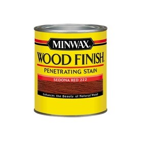 Minwax Wood Finish Sedona Red Oil Based Interior Stain Actual Net Contents 32