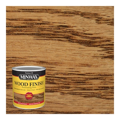 Minwax Wood Finish Oil Based English Chestnut Interior Stain 1 Quart In The Interior Stains Department At Lowes Com