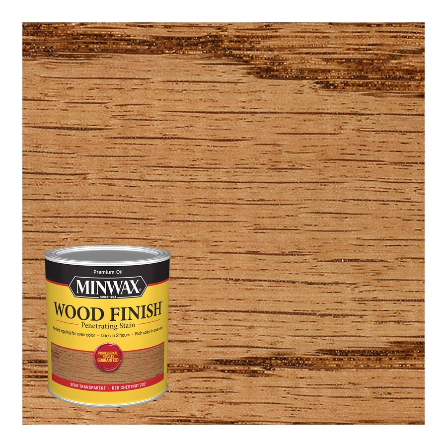 Minwax Pre-Tinted Red Chestnut Interior Stain (Actual Net Contents: 32-fl oz)