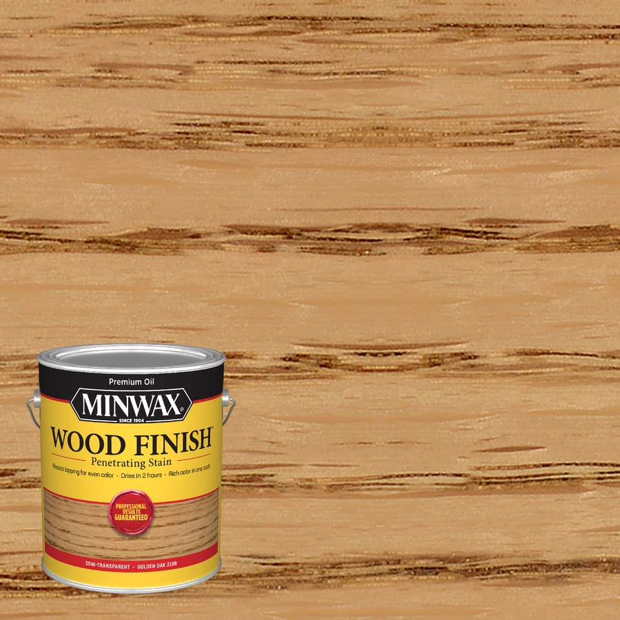 Minwax Golden Oak Interior Stain (Actual Net Contents: 128-fl oz)