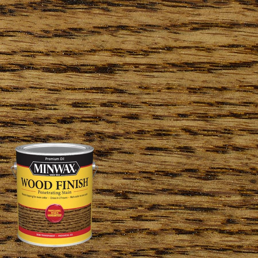 Minwax Provincial Interior Stain (Actual Net Contents: 128-fl oz)