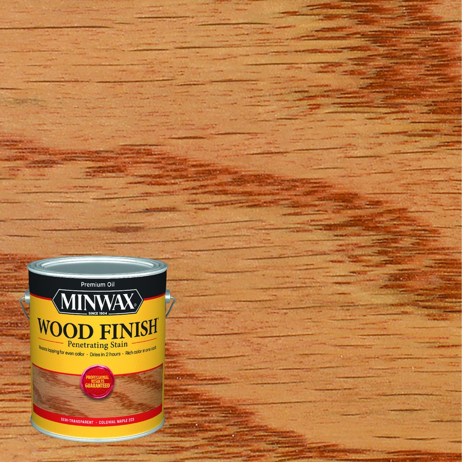 Minwax Pre-Tinted Colonial Maple Interior Stain (Actual Net Contents: 128-fl oz)