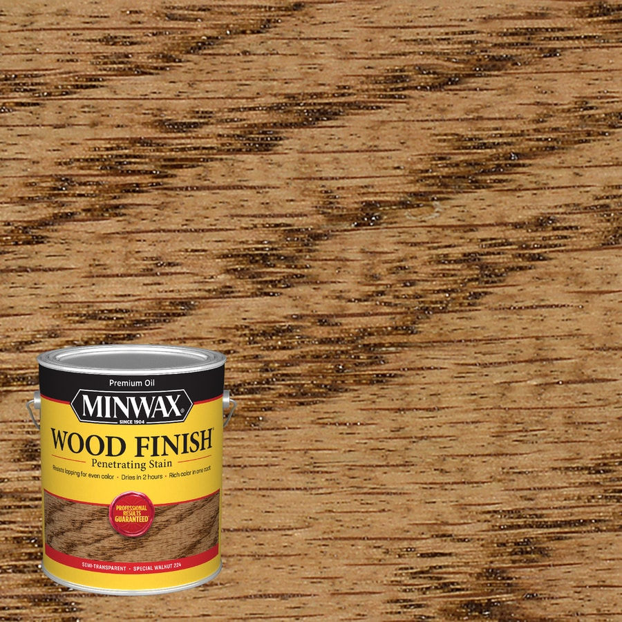 Minwax Special Walnut Interior Stain (Actual Net Contents: 128-fl oz)