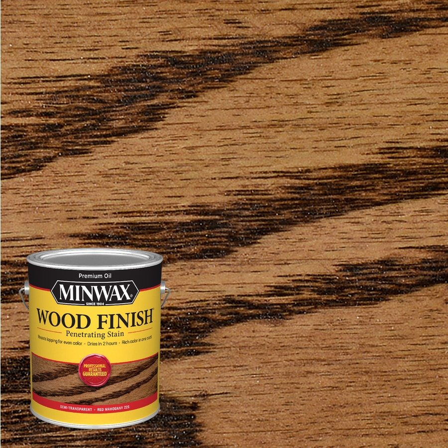 Minwax Red Mahogany Interior Stain (Actual Net Contents: 128-fl oz)